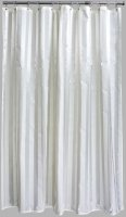 Aqualona Oxford Cream Shower Curtain 180cm