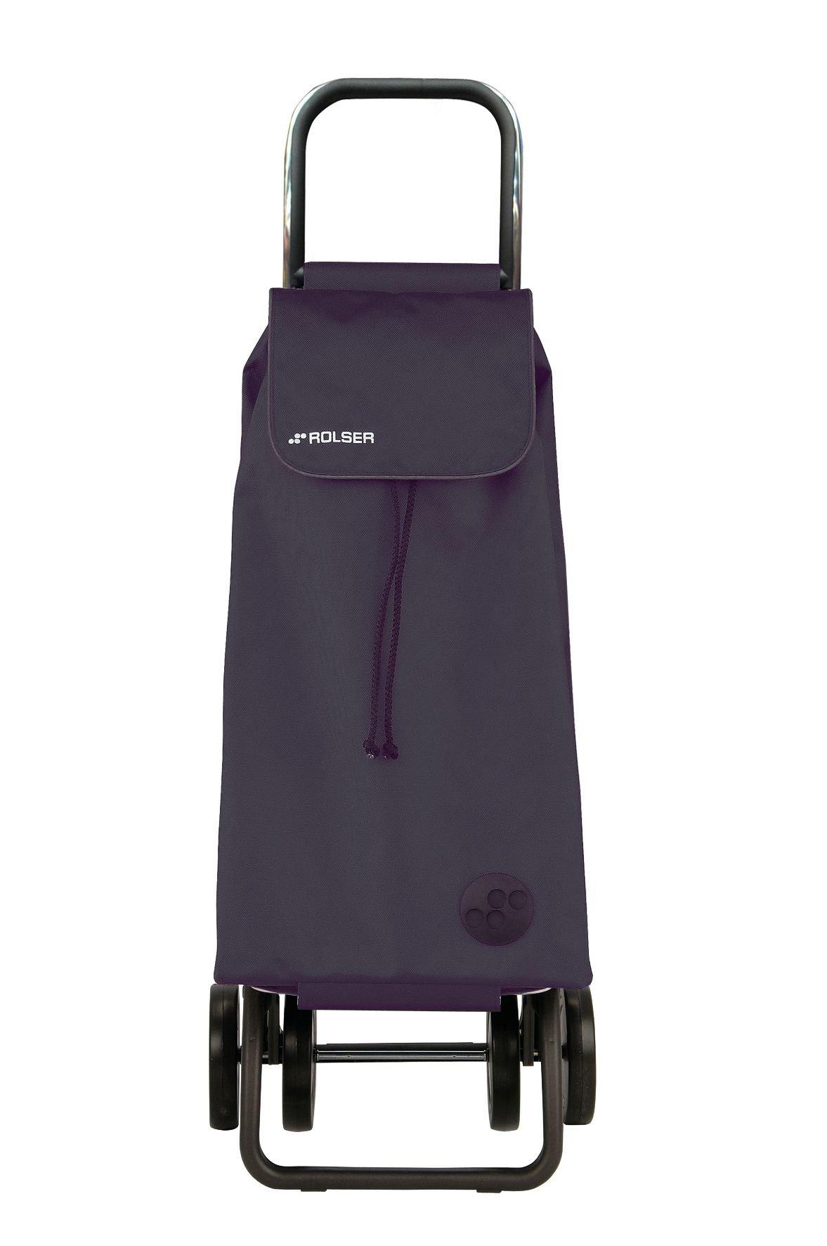 e0f631b99ac9 Rolser Pack Folding Shopping Trolley 4 Wheel - Blue/Grey at Barnitts ...