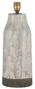 Pacific Lifestyle Milano Tall Marble Effect Stoneware Table Lamp