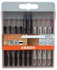 Kendo 10 Piece Mixed Jigsaw Blades