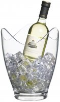 bar craft clear acrylic drinks pail/wine bucket,