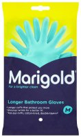 marigold longer bathroom gloves - medium