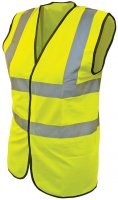 Scan Hi Viz Vest Medium Yellow