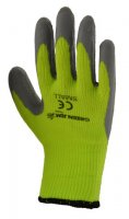 Green Jem Hi-Vis Winter Work Gloves - Green Small