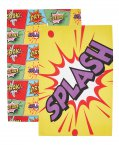 Kitchen Craft Comic Strip Tea Towels (Set of 2)