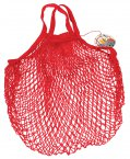 Rex French Style String Shopping Bag Red