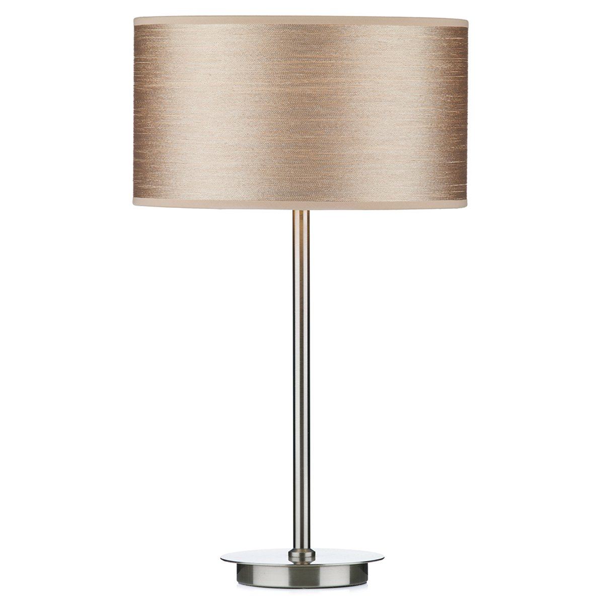Dar Tuscan Table Lamp Base Only Satin Chrome At Barnitts