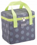 KitchenCraft Grey Spotty Lunch / Snack Cool Bag, 5 Litres