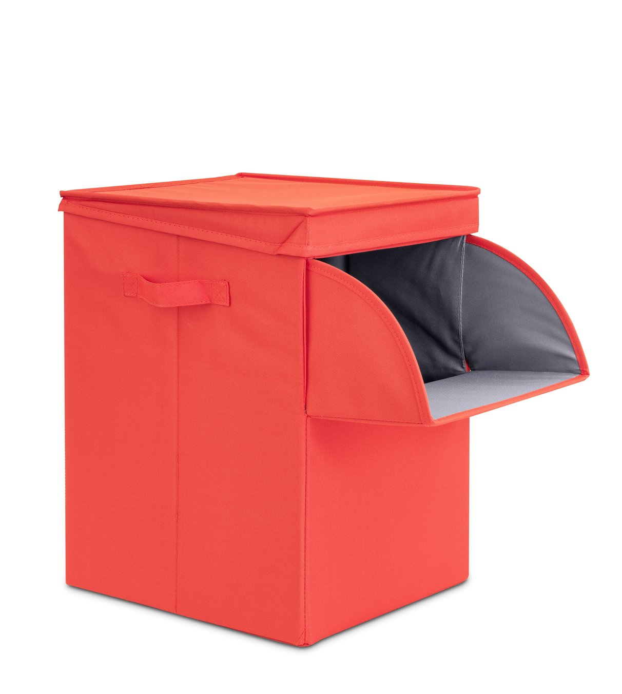 Brabantia Stackable Laundry Box 35 Litre Warm Red At