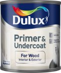 Dulux Quick Dry Wood Primer & Undercoat 250ml