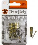 X Brass Picture Hooks No2