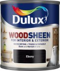 Dulux Woodsheen Ebony 250ml