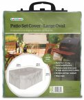 Large Oval Patio Set Cover Green