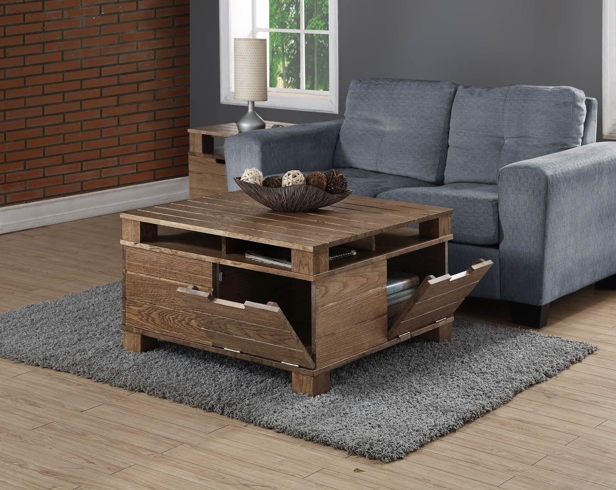Jual Rustic Oak Solid Wood Coffee Table At Barnitts Online