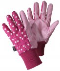 Briers Spots Water Repellent Gardening Gloves Medium