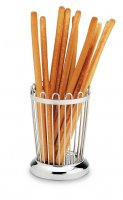 Grunwerg Stainless Steel Wire Breadstick Holder