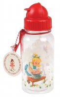 Rex Vintage Girl Kids Water Bottle
