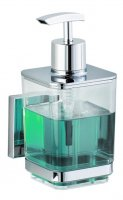 Wenko Vacuum Loc Quadro Liquid Soap Dispenser Holder