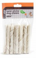 Petface Premium Rawhide Twist Sticks Dog Chews (Pk of 25) - Mint