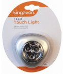 Kingavon 3 LED Triangle Touch Light