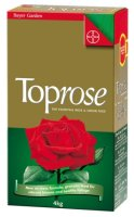 Bayer Toprose fertilizer 4 Kg