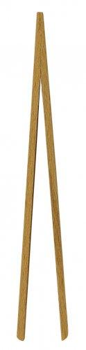 Wooden Kitchen Toast Tongs 15cm