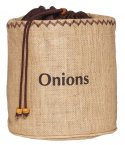 Natural Elements Onion Preserving Jute Sack