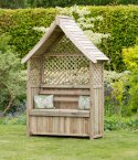 Zest4Leisure Norfolk Arbour With Storage Box