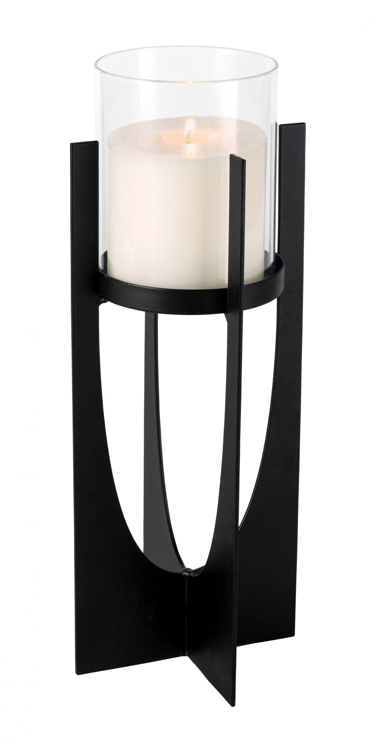 17528caf9a The Outdoor Living Co Black Metal Candle Holder - Small at Barnitts Online  Store, UK | Barnitts