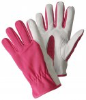 Briers Super Soft and Strong Leather Gloves Magenta