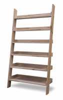 Garden Trading Hambledon Shelf Ladder, Wide - Raw Oak