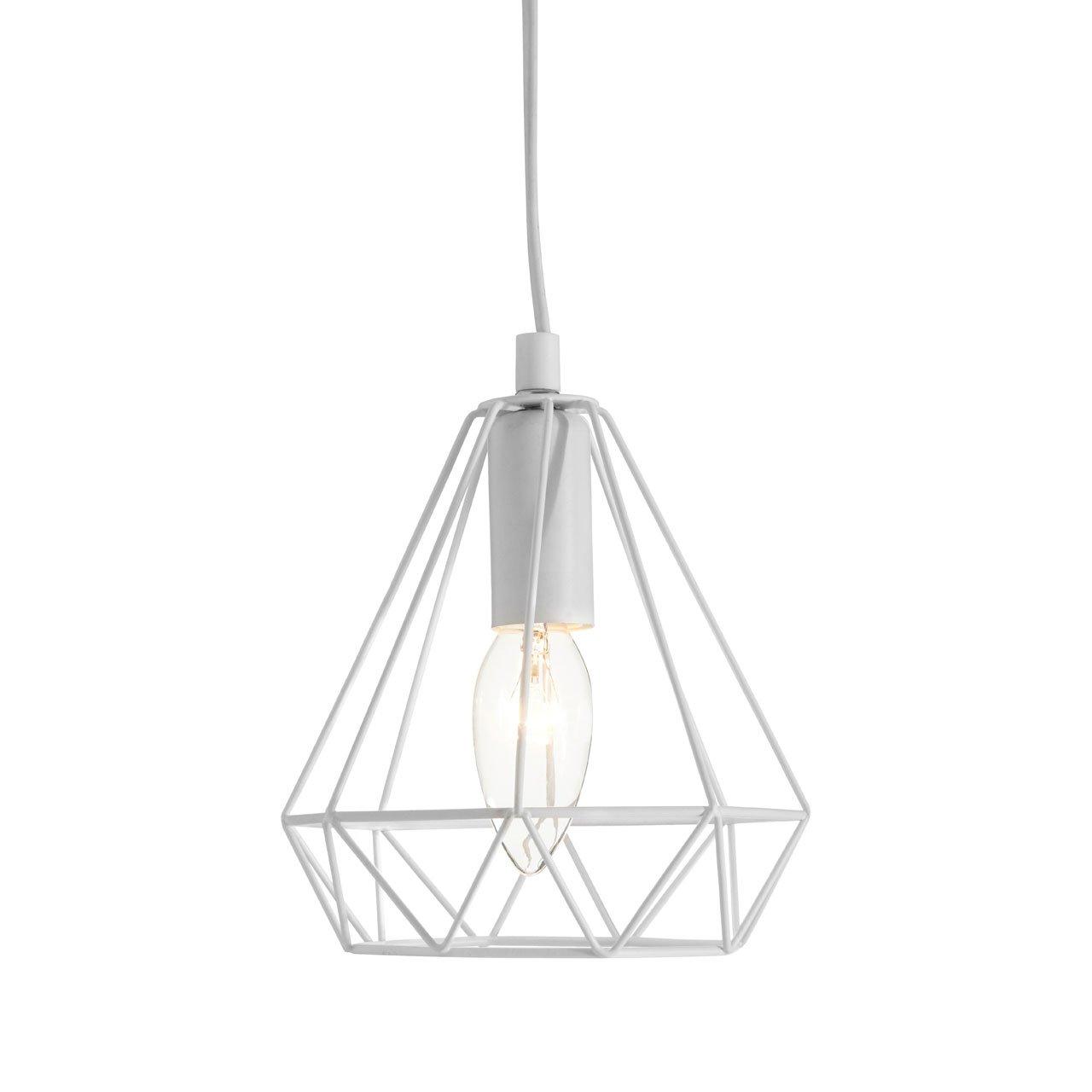 Beli White Metal Wire Pendant Light At Barnitts Online Store Uk Barnitts