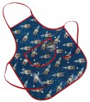 Rex Children's Apron Spaceboy Design