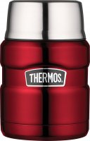 Thermos King Stainless Steel Food Flask Red 470ml