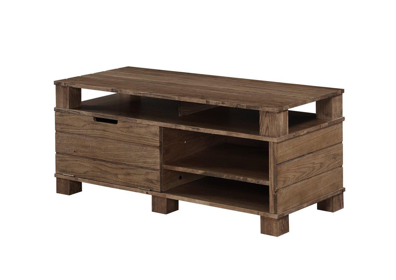 Jual Rustic Oak Solid Wood Tv Stand At Barnitts Online