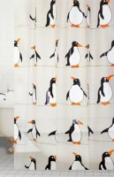 penguin peva shower curtain