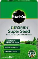 Miracle-Gro® EverGreen® Super Seed Lawn Seed 66m2