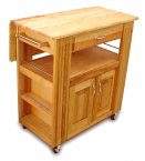 Catskill Craftsmen Heart of the Kitchen Island Trolley with Drop Leaf