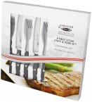 Sabatier & Stellar Steak Fork & Knife Set (8 Piece)