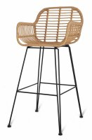 Garden Trading Hampstead Bar Stool - All-Weather Bamboo