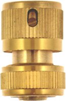 Green Jem Brass Female Quick Fix Connector