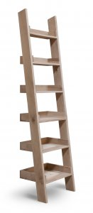 Garden Trading Hambledon Shelf Ladder, Small - Raw Oak