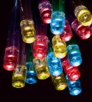 Premier Decorations Battery Operated Static & Flashing 20 LED Lights - Multicoloured