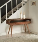 Jual Havana Console Table in Walnut with Ash Spindle Legs