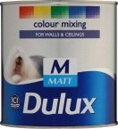 Dulux Matt Medium Base 1 Litre