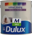Dulux Silk Medium Base 2.5 Litre