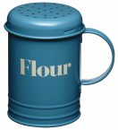 Home Made Vintage Style Metal Flour Shaker 400g