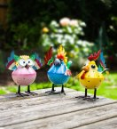 Smart Garden Wacky Wings Metal Ornament - Assorted