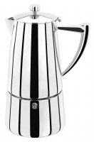 Stellar Art Deco 10 Cup Espresso Maker 600ml