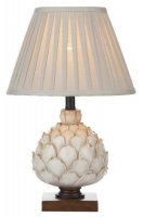 Dar Layer Table Lamp Cream Small with Shade